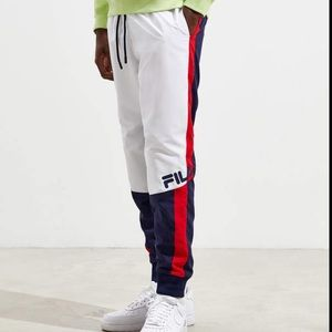 FILA Hudson Color-block Track-pants